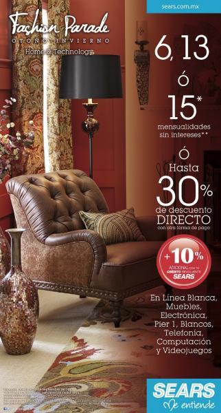 Sears: promociones en pantallas, ropa, películas, muebles, línea blanca, viedojuegos y más