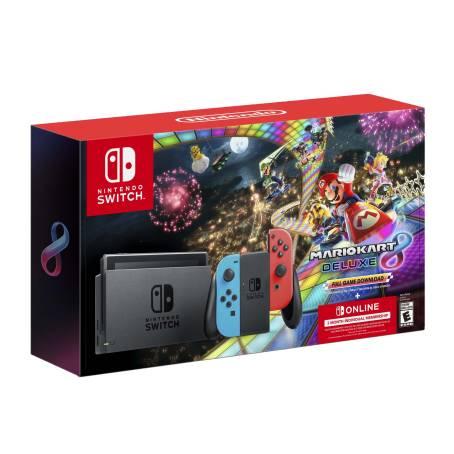 Sam's Club - Consola Nintendo Switch Neon 1.1 + Mario Kart 8 Deluxe Descargable