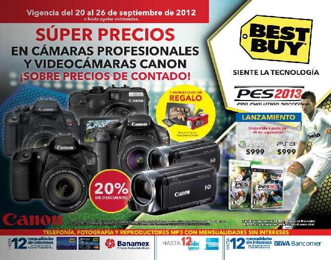Best Buy septiembre 20: hasta 20% de descuento en pantallas Samsung, cámaras profesionales Canon y más