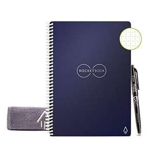 Amazon: Rocketbook - Cuaderno borrable, reutilizable