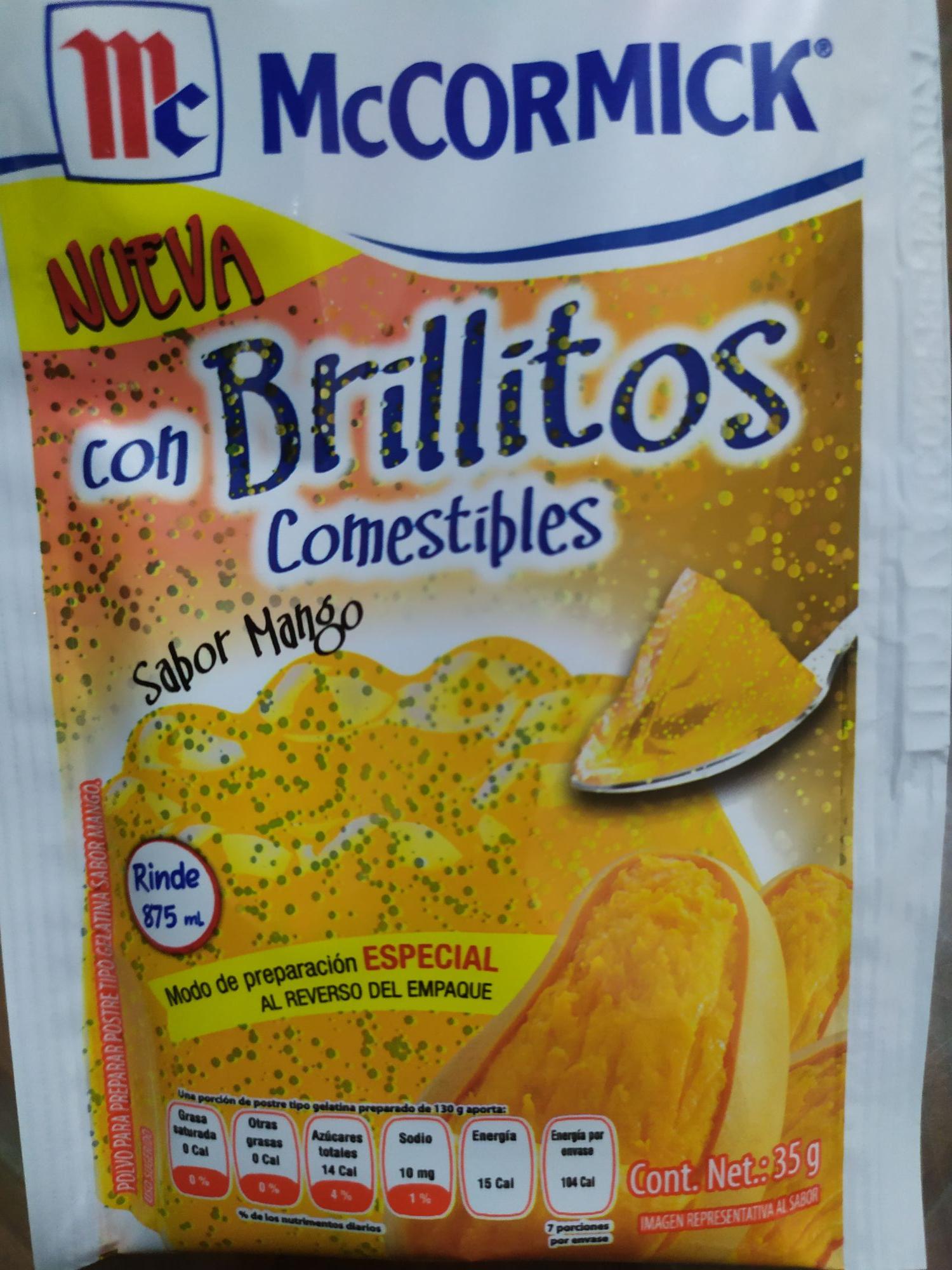 Bodega Aurrera: Gelatina con Brillitos a peso