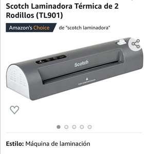 Amazon: Laminadora Térmica Scotch (Oferta relampago)