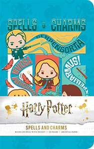 Amazon MX Harry Potter: Spells and Charms Ruled Pocket Journal
