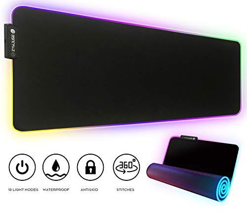 Amazon: Alfombrilla de mouse para juegos RGB (Envío gratis con prime)
