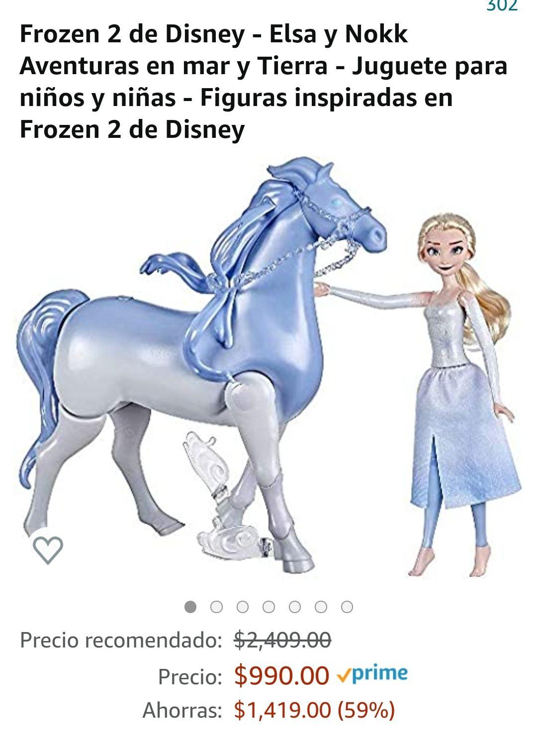 Amazon: ¡Caballo que nada! Frozen 2 de Disney - Elsa y Nokk Aventuras en mar y Tierra