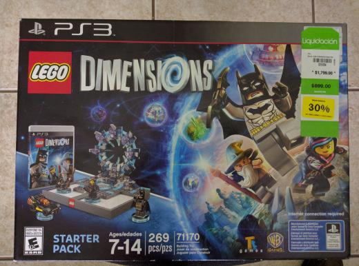 Fábricas de Francia Lago Gpe: Lego Dimensions para PS3 a $490 y otras ofertas.