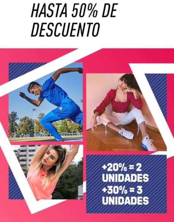 Black Friday adidas: hasta 50% de desceunto + 20% extra al comprar 2 unidades o 30% comprando 3