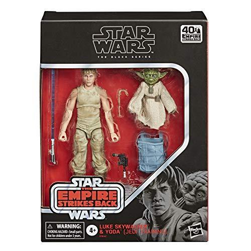 Amazon: black series Luke y Yoda