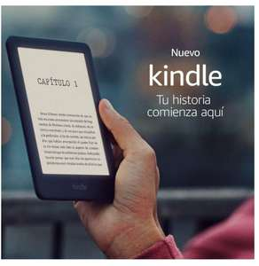 Best Buy: Amazon - E-Reader - Kindle Luz Frontal de 8GB 10th Generación - Negro