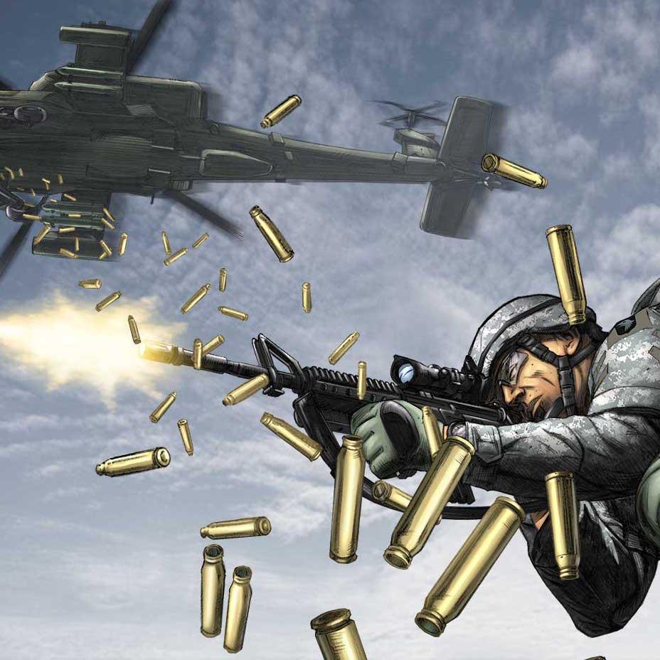 Serie Completa del Comic AMERICA'S ARMY (15 ejemplares) como descarga GRATIS en Amazon US.