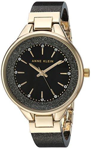 Amazon: Anne Klein con cristales Swarovski para mujer, pulsera de piel