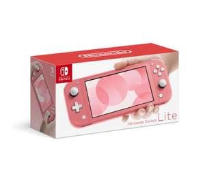 HEB: Consola Nintendo Switch Lite (coral o gris)