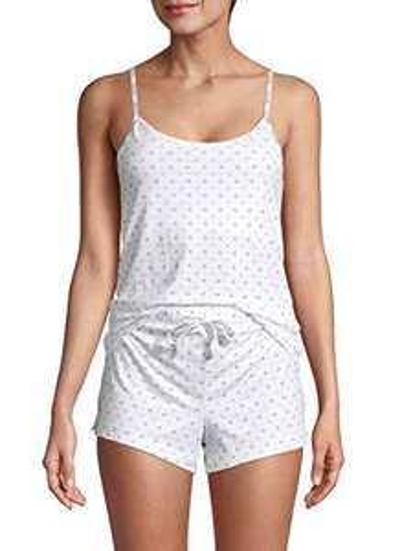 Amazon: Calvin Klein Carousel Sleep - Juego de Pantalones Cortos Juego de Pijama para Mujer