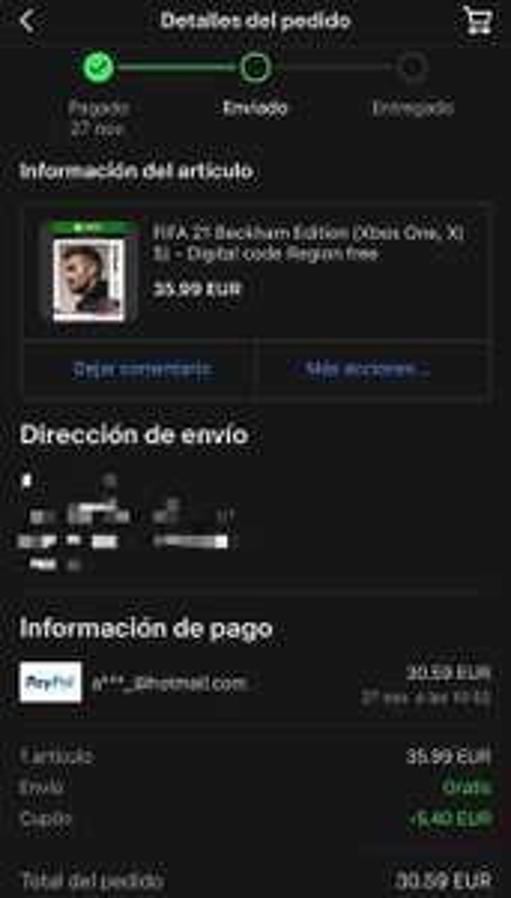 eBay: Fifa 21 Beckham Edition one, X,S (Digital)