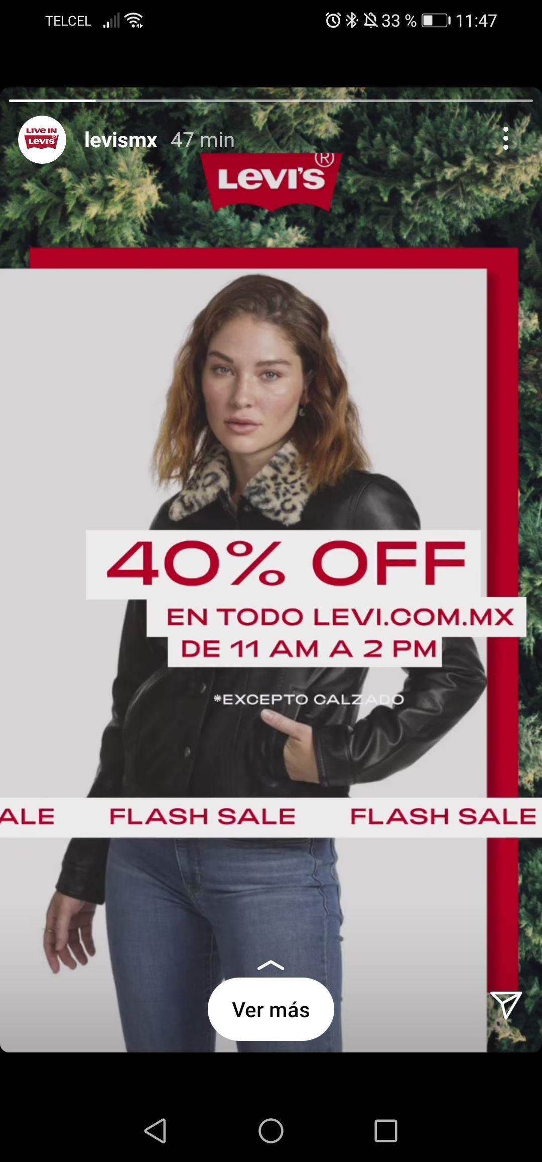 40% en Levi's mx