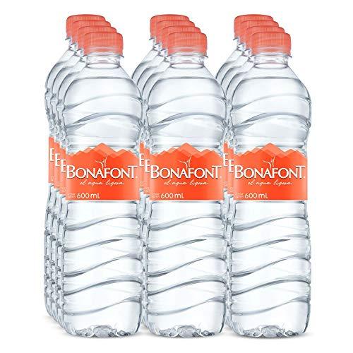 Amazon: Bonafont agua 600ml 12 Pack