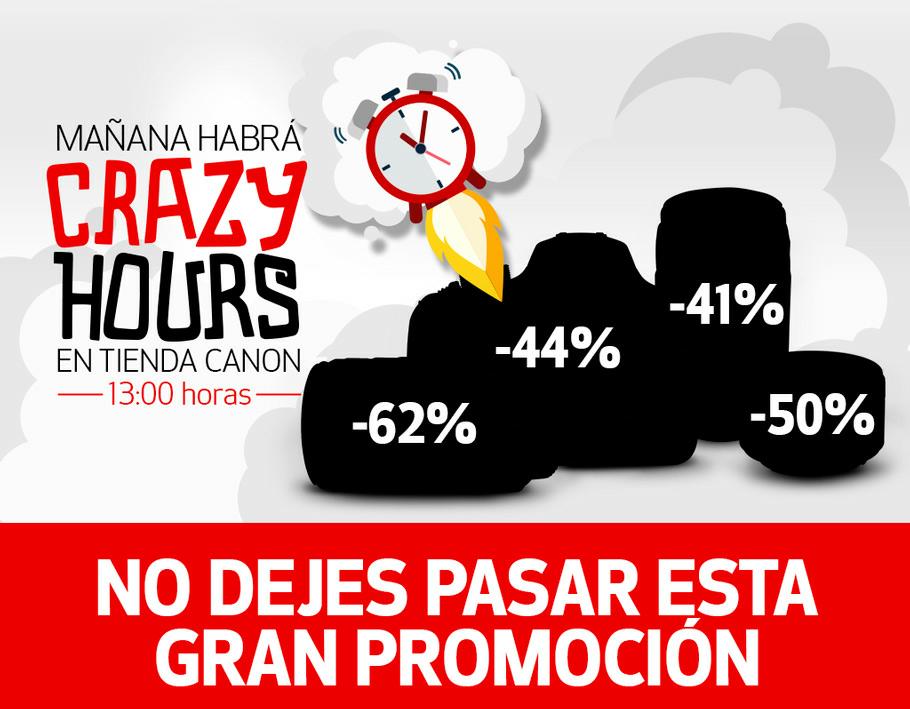 Tienda Canon: CrazyHours a las 13:00