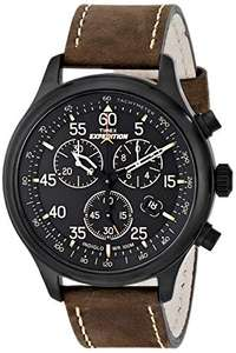 Amazon: Reloj Timex Expedition para Hombres 42mm, pulsera de Piel