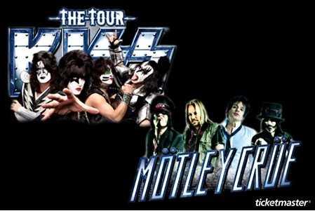 30% de descuento para Kiss y Mötley Crüe y 40% de descuento para Enrique Bunbury