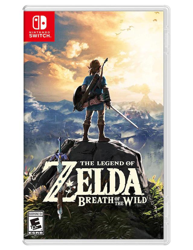 Liverpool: The Legend of Zelda Breath of the Wild Nintendo Switch