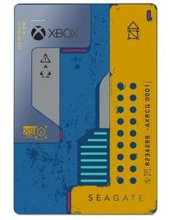 CyberPuerta: Disco Duro de 2 Tb para Xbox one (edición Cyberpunk)