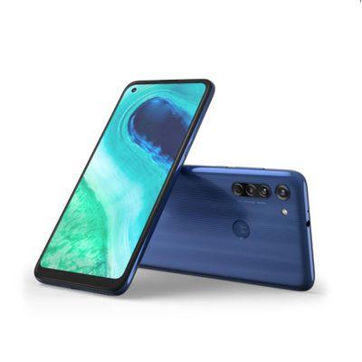 Elektra: Motorola Moto G8 64GB Desbloqueado AZUL (pagando con citibanamex)
