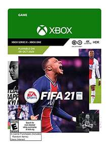 Amazon US: FIFA 21 – Xbox Series X|S – Xbox One [Digital Code]