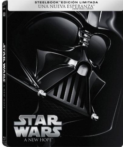 Amazon: Steelbooks de la saga original de Star Wars en Oferta