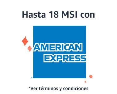 AMAZON MX: American Express 18 MSI
