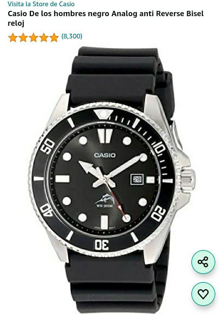 Amazon: Reloj Casio Marlin (Precio al agregar al carrito y proceder a pagar)
