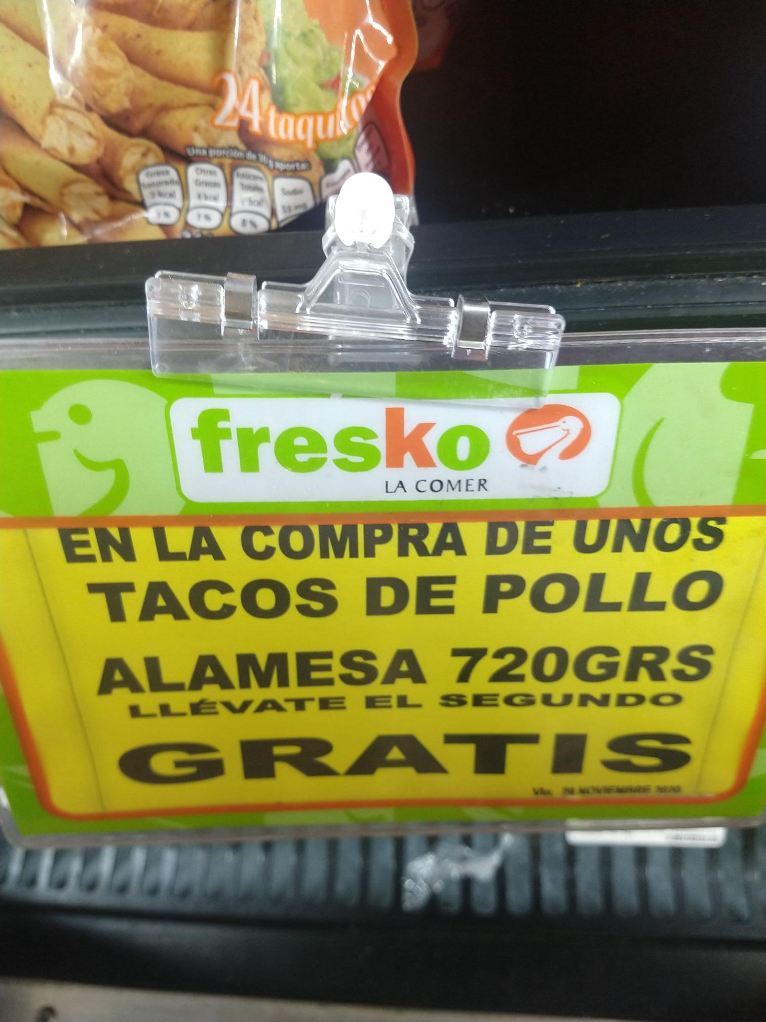 Fresko: varios artículos de comida congelada al 2x1