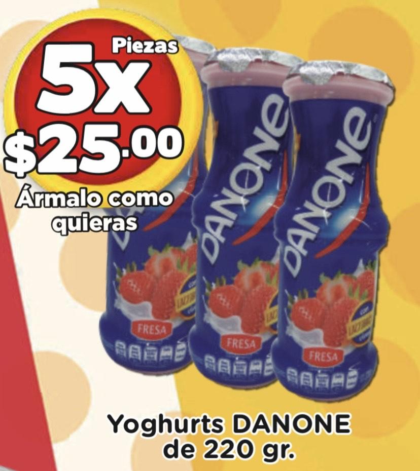 SuperAki Danone 5 x $25