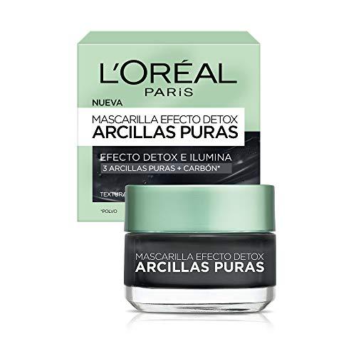 Amazon Loréal mascarilla negra 40ml
