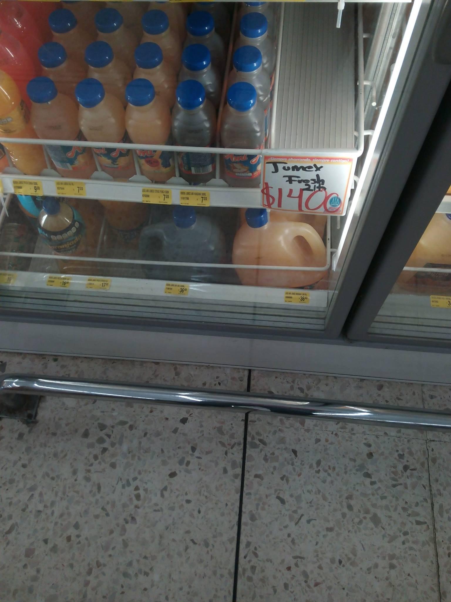 Farmacias Guadalajara: Jumex Fresh 2lts $14, Ketoconazol $26