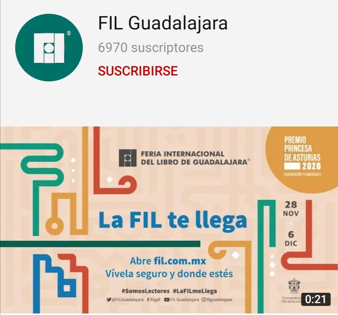 FIL GUADALAJARA: Edición especial en linea 2020