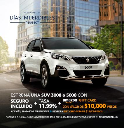 Peugeot 2021 + $15mil giftcard