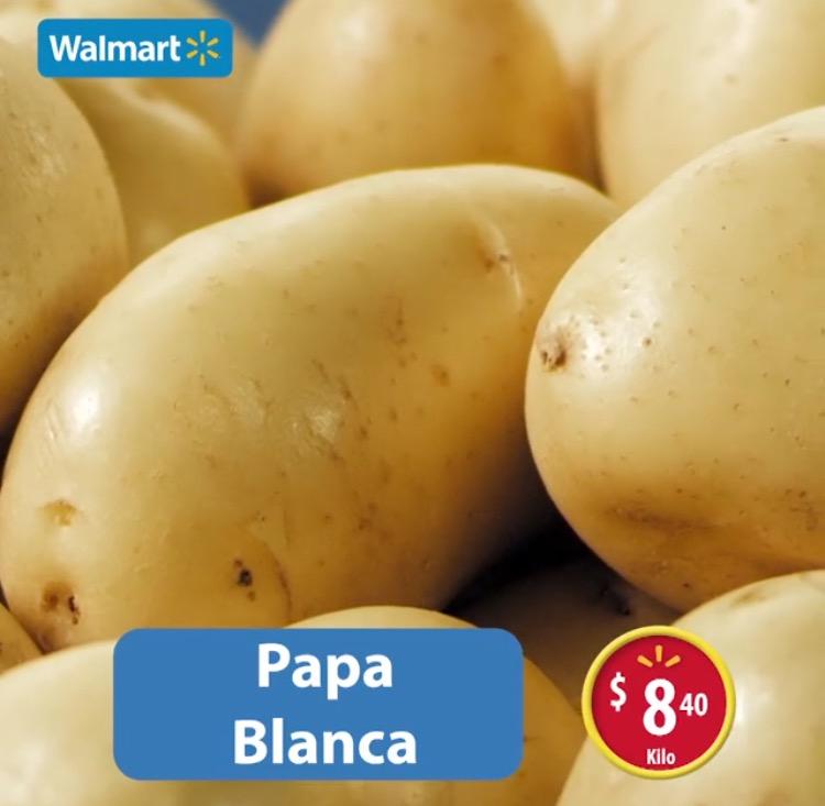 Martes de frescura en Walmart julio 19: papa blanca a $8.40 el kilo y más