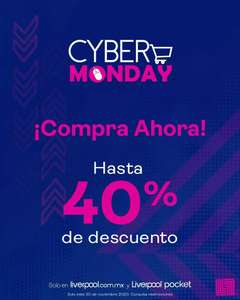 Liverpool - Cyber Monday 40%