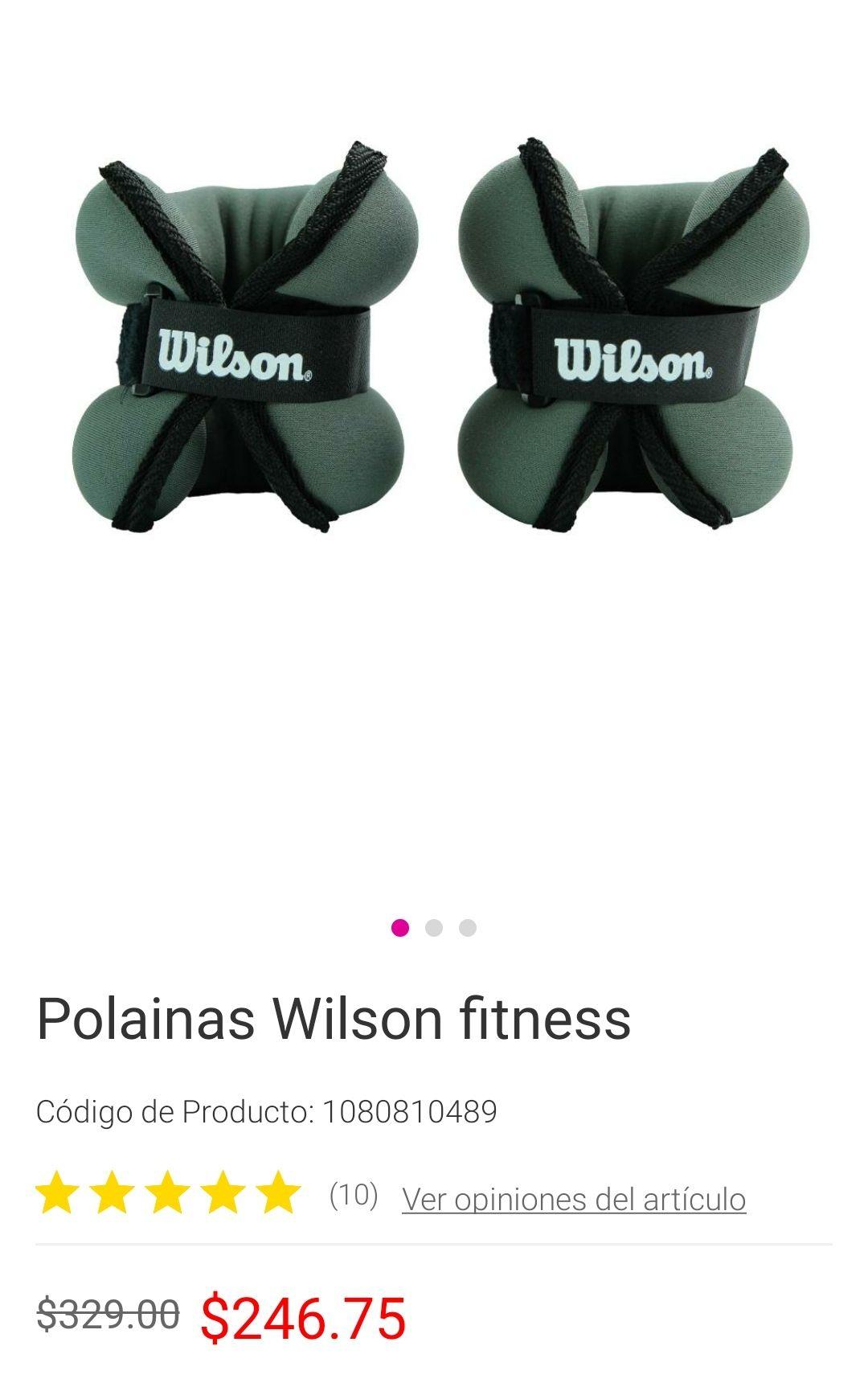 Liverpool: polainas Wilson 4 lbs