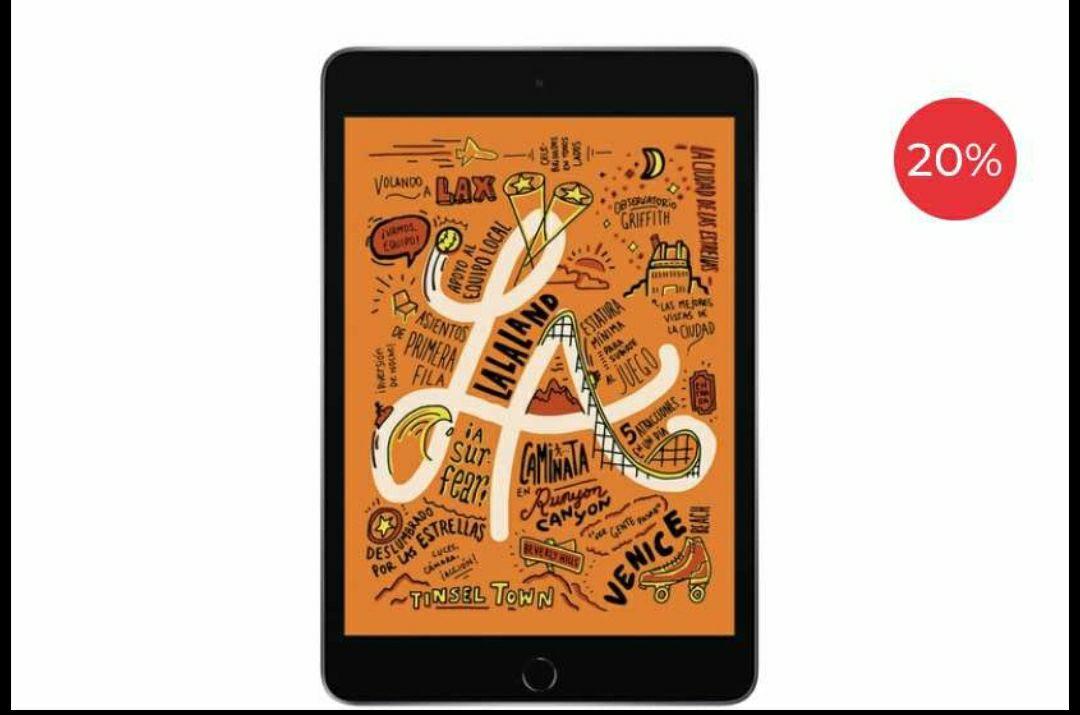 Office Depot: iPad Mini 5 Apple MUQW2LZ/A / 7.9 Pulg. / 64gb / Chip A12 Bionic / iOS 12 / Gris