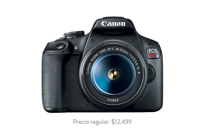 Tienda Canon: Canon T7 + Lente con BBVA