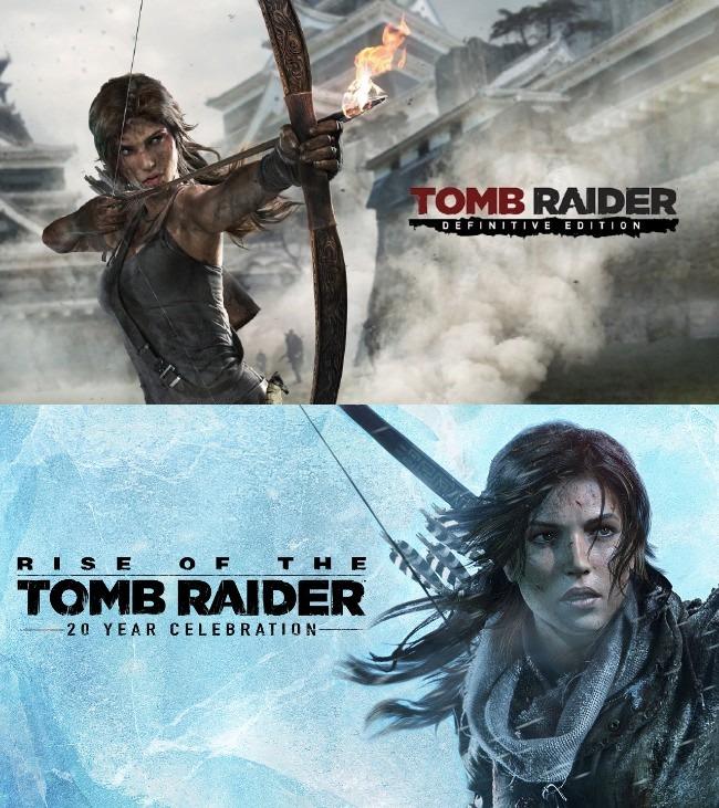 PS Store: Tomb Raider: Definitive Edition $70 / Rise of the Tomb Raider: 20º aniversario $140