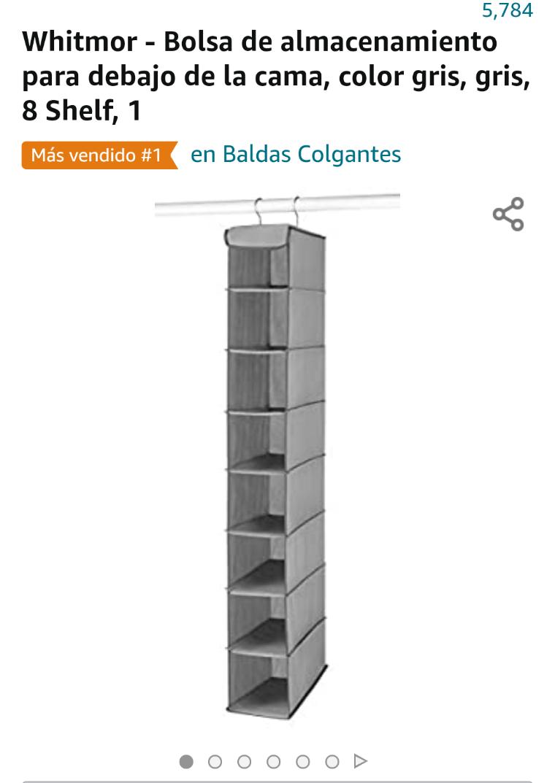 Amazon: Organizador colgante