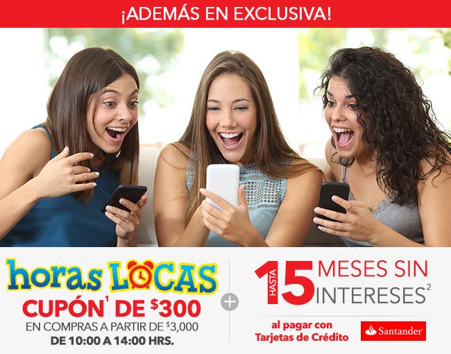 Best Buy en línea: Horas Locas de 10 a 2 pm - Cupón de $300 en compras arriba de $3,000