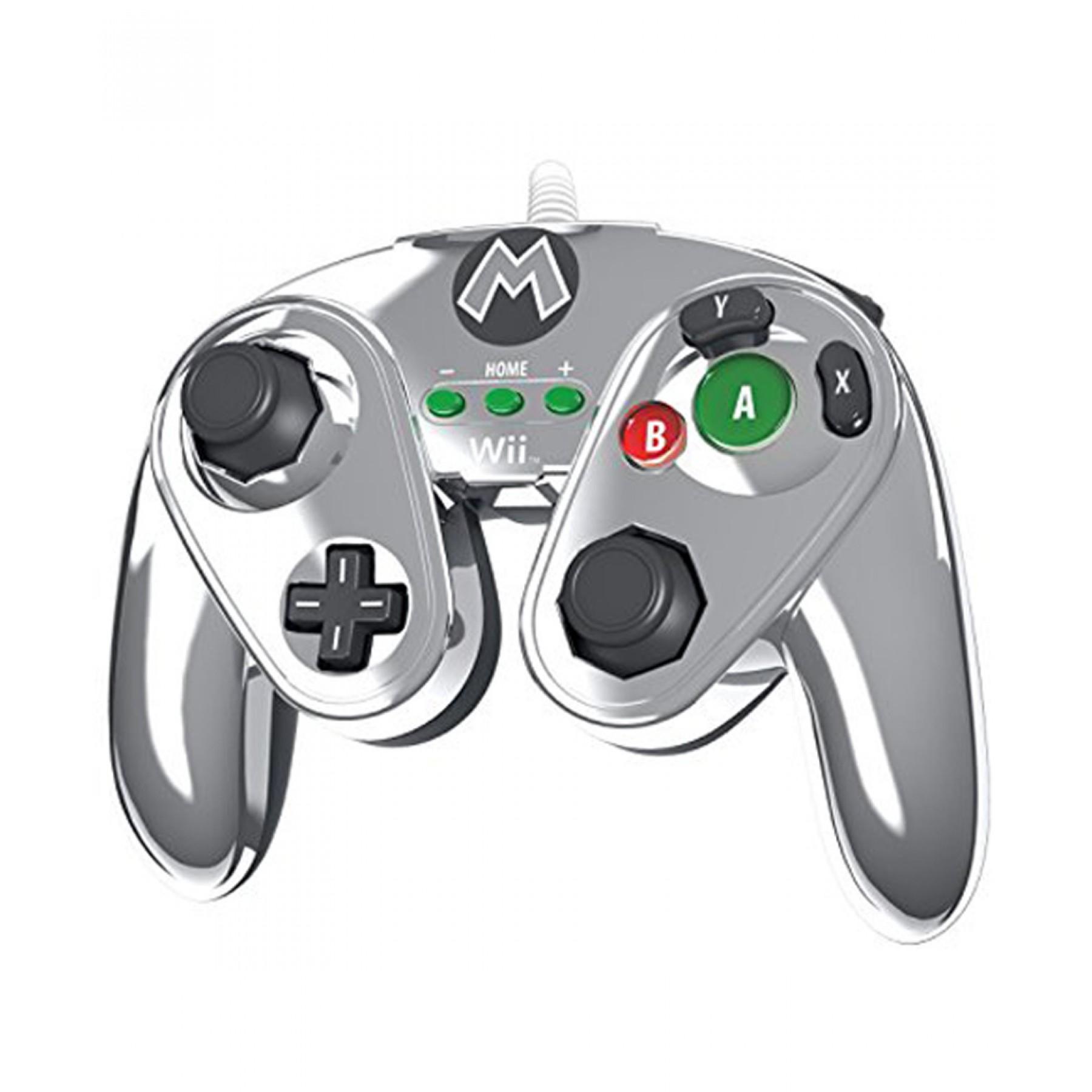 Palacio de Hierro: Nintendo Wired Fight Pad Metal Mario para Wii U