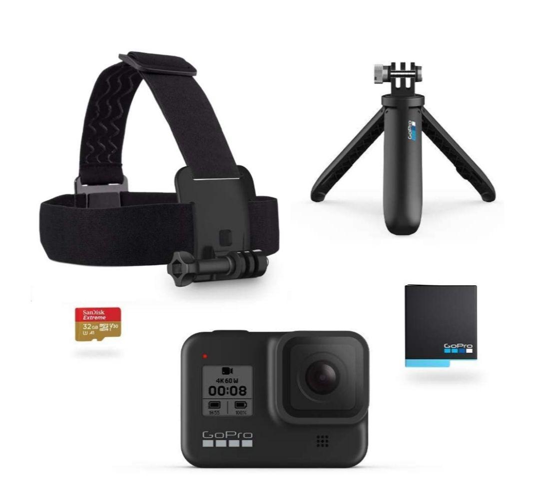 Amazon: GoPro Hero 8 con accesorios $6229 a 12 MSI con BBVA