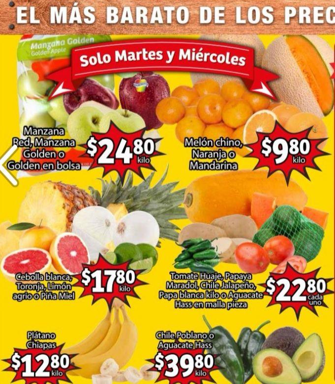 Soriana Mercado y Express: Frescura de Mercado 1 y 2 Diciembre