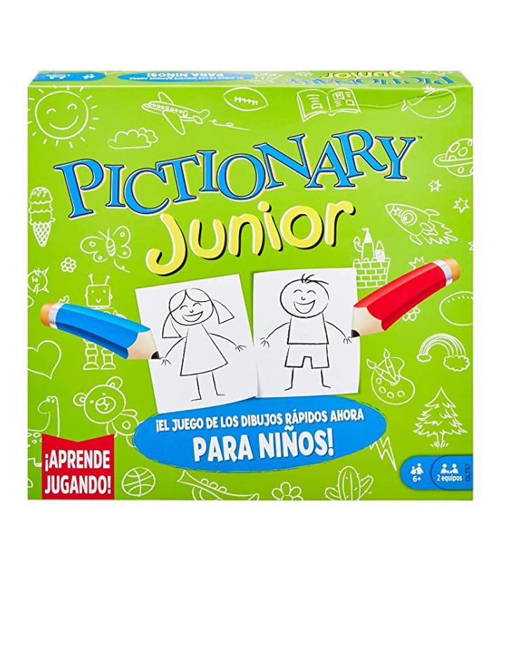 Amazon: Mattel Games Pictionary Juegos de Mesa Pictionary Junior +6 años