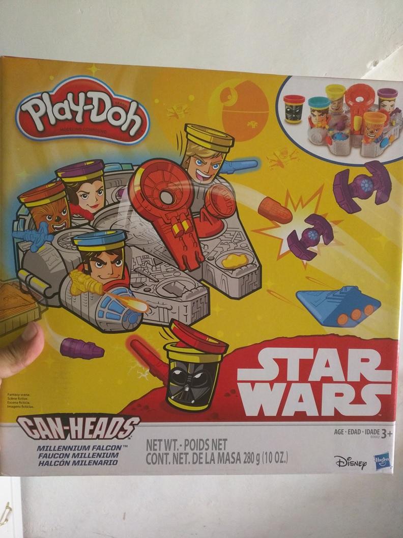 Walmart Aeropuerto: Play Doh SW Halcón Milenario de $469 a $70.02