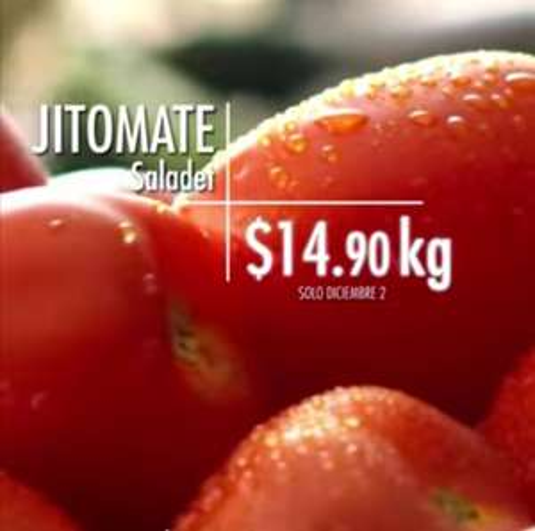 La Comer y Fresko: Miércoles de Plaza 2 Diciembre: Papa ó Jitomate $14.90 kg... Cebolla ó Piña $16.90 kg.